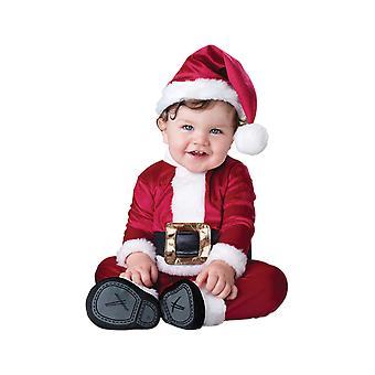 Kids Baby Santa Christmas Fancy Dress Costume