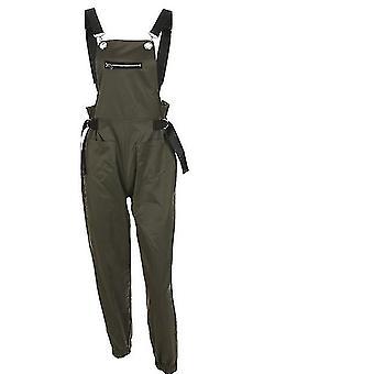 Women Sleeveless Adjusted Strap Zipper High Waist Rompers