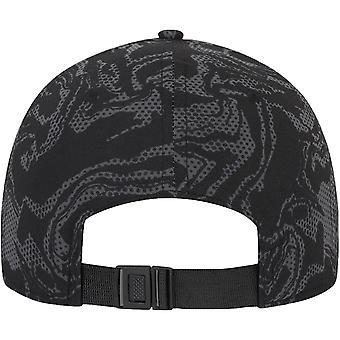 New Era Adults Chicago Bulls Seasonal Camo 9Forty Adjustable Cap Hat - Black