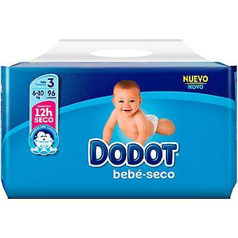 Dodot Bebé Seco Pañal Talla 3 96 Unidades