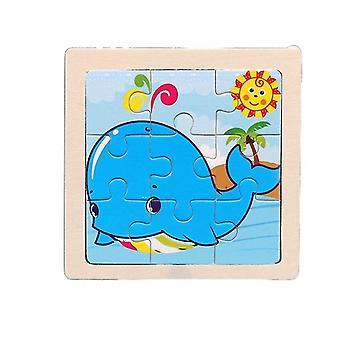 الألغاز لعب الاطفال التعليم المبكر الفكري بانوراما الرسوم هدية pt165