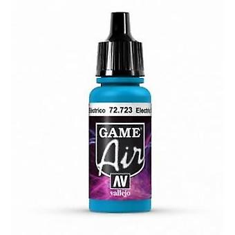 Vallejo Game Air 17ml Acrylic Airbrush Paint 72.723 Electric Blue