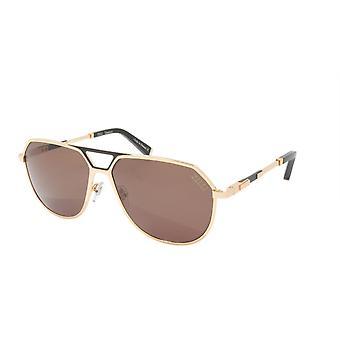 ZILLI Sunglasses Titanium Acetate Leather Polarized France Handmade ZI 65023 C07