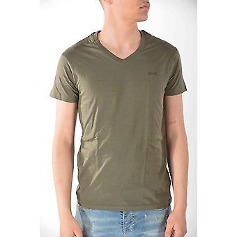 T-shirt short sleeves Kaki Schott men
