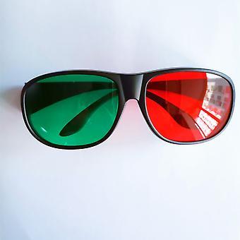 Plastové Unisex Jantárovo modré 3D okuliare Purpurová zelená 3d Vision Anaglyph pre video
