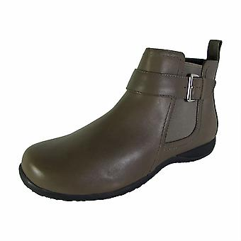 Vionic Womens Charm Adrie Casual Zip Up Ankle Boot Shoes
