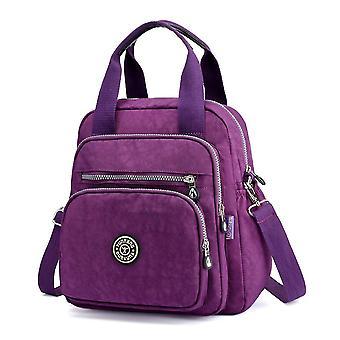 حقيبة ظهر أزياء الكتف حقيبة متعددة الأغراض النايلون حقيبة الظهر محفظة السفر daypack عارضة schoolbag للفتيات