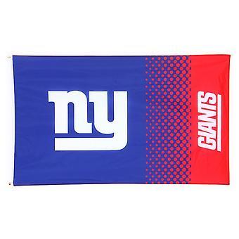 NY Giants Fade NFL Flag 5 x 3
