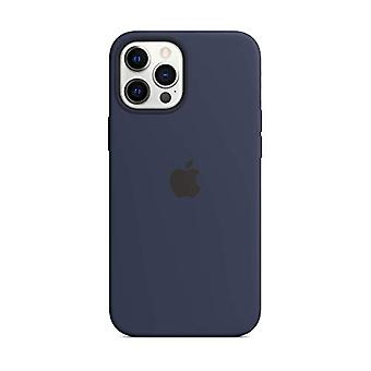 Funda de silicona de Apple con MagSafe (para iPhone 12 Pro Max) - Deep Navy