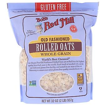 Bobs Red Mill Oats Rolled Gf Old Fash, Case of 4 X 32 Oz