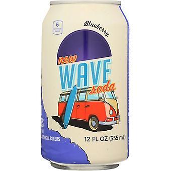 Wave Soda Soda Mustikka, Kotelo 12 X 12 Oz