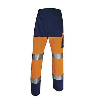 Delta Plus Hi-vis Panostyle werkbroek polyester/katoen
