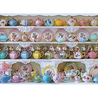 Eurographics China Cabinet Jigsaw Puzzle (1000 pièces)