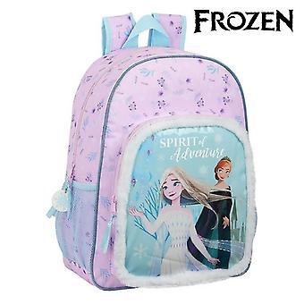 Child bag Frozen II Light Blue Pink (33 cm)