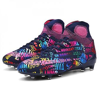 Faux Leather Football Shoes