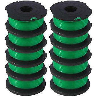 Sf-080 Replacement Spool Auto Feed Spool Single Line String Trimmer 20ft 0.080 Inch (10 Pack)