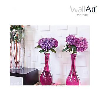 WallArt 3D Wall Panels Squares 12 pcs. GA-WA09