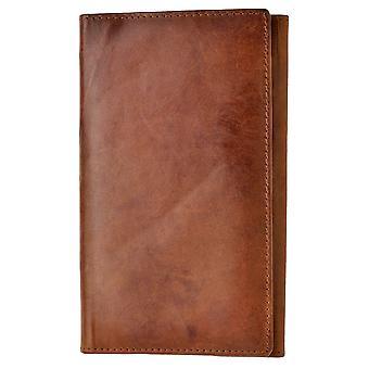 Miesten aito vasikka nahkatakki lompakko