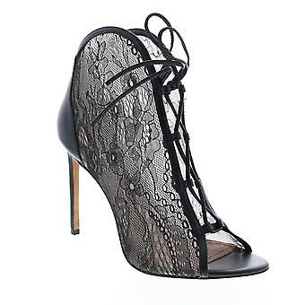 BCBG Max Azria Adult Womens Elaine Lace Shiny Nappa Pumps Heels