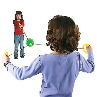 Jumbo Speed Balls Through Pulling The Ball Outdoor Games Children's Toys Gift(Blue)