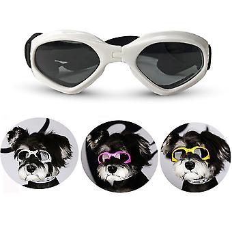 Faltbare Haustierbrille Hund Katze Sonnenbrille Brille Einstellbar