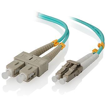 Alogic 10M Lc Sc 10G Multi Mode Duplex Lszh Fibre Cable Om3
