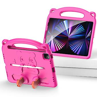 Case For Ipad Pro 11 2020,shockproof Lightweight Convertible Handle Stand Protective Kids Child Cover - Pink Panda