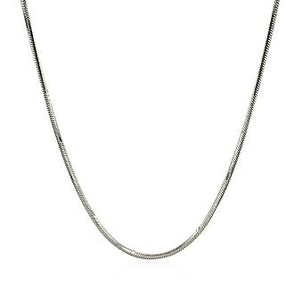 Sterling Zilver 1.2mm Snake Style Ketting
