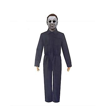 Michael Myers Halloween Kostüm Cosplay, Halloween Party Latex Requisiten Horror Maske