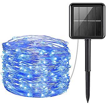 Mini 33feet 100 Led Copper Wire Lights, Waterproof Solar Decoration Lights