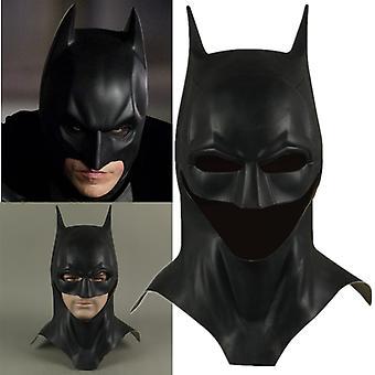 Halloween Dark Knight Bruce Wayne Latex Maske
