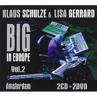 Schulze, Klaus/Patricia, Lisa - Big en Europe 2: importation USA Amsterdam [CD]