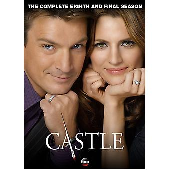 Castle: The Complete Eighth & Final Season [DVD] USA import
