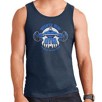 Mighty Blue Gym The Tick Men's Vest