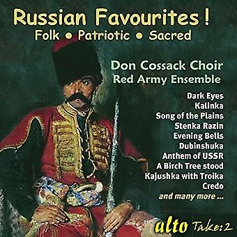 Cossack, Don Choir / Red Army Ensemble - Russian Favourites! [CD] USA import