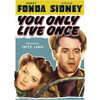 You Only Live Once [DVD] USA import