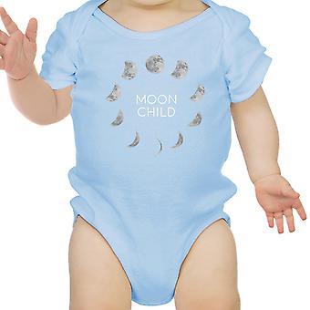 القمر الطفل الرضيع الأزرق ملامستهما الطفل الرسم لطيف بيبي ملامستهما الهدايا