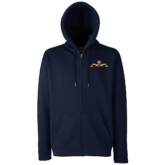 Royal Navy Submariners Dolphins Official MOD - Zipped Hoodie Jacket