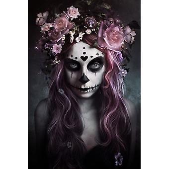 Dia De Los Muertos Poster Poster Print