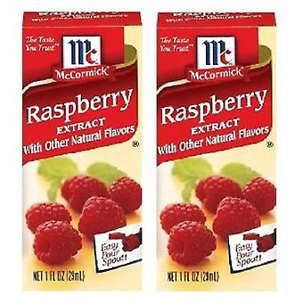 McCormick Raspberry Extract 2 Bottle Pack