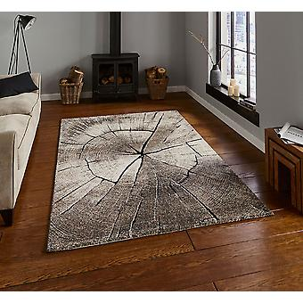Woodland Think 2086 Beige  Rectangle Rugs Modern Rugs
