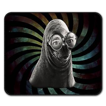 Dichtung Brille Tier Anti-Rutsch-Mauspad Pad 24 x 20 cm | Wellcoda