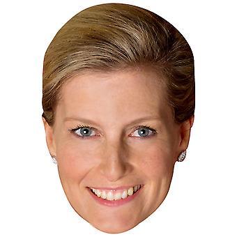 Sophie comtesse de Wessex masque