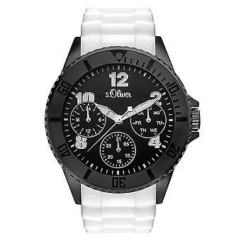 Oliver s. reloj pulsera reloj de silicona SO-3294-PM