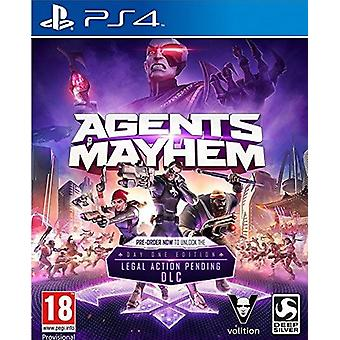 Agents Of Mayhem - Day One Edition PS4 Video Game