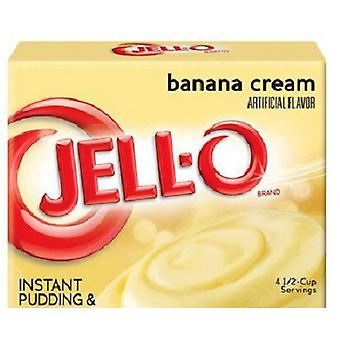 Jell-O Banana Cream Instant Pudding Dessert Mix 5,1 oz vak