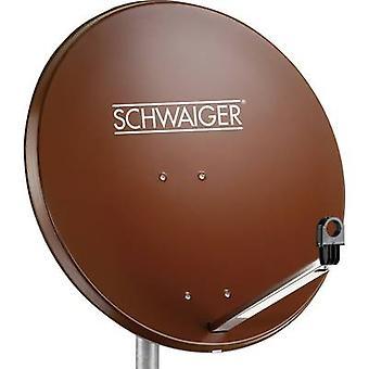 Schwaiger SPI 996.2 SAT antena 80 cm material reflectorizant: oțel cărămidă roșie