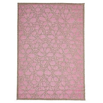 In - and outdoor carpet balcony / living room pink nature 135 x 190 cm