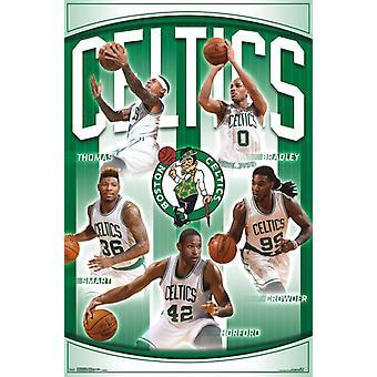 Boston Celtics - Team 16 Poster drucken