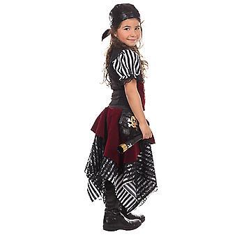 Piratenmädchen Thea Kinder Kostüm Mädchen Freibeuterin Piratin